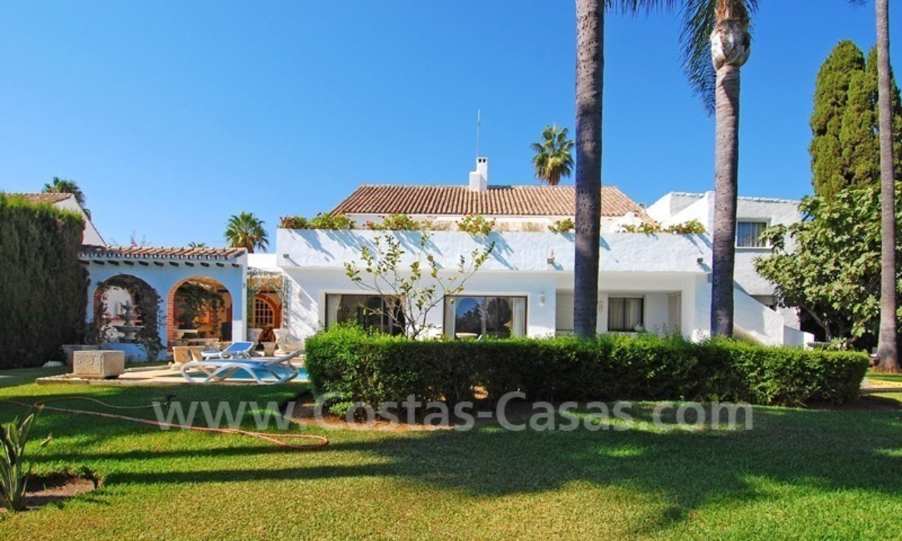 Beach property villa for sale - Puerto Banus - Marbella 1