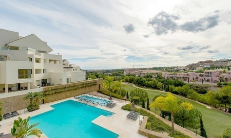 Luxury first line golf modern contemporary penthouse for sale, 5*golf resort, Benahavis - Marbella 0