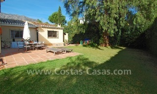Villa for sale on the Golden Mile in Marbella 1