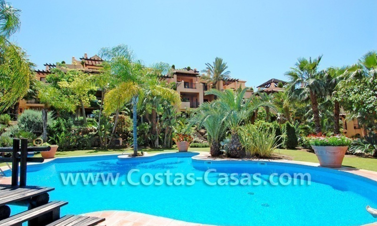 Bargain luxury golf apartment for sale in a golf resort between Marbella and Estepona centre 15