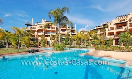 Luxury golf bargain apartment for sale in a golf resort between Marbella and Estepona centre 0