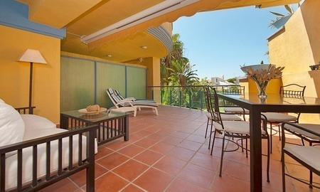 Beachside apartment for sale in Marbella 0