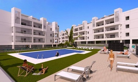 Pre-release of new beachside apartments for sale beachside in Marbella 2