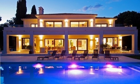 Exclusive modern villa for sale in Nueva Andalucia, Marbella