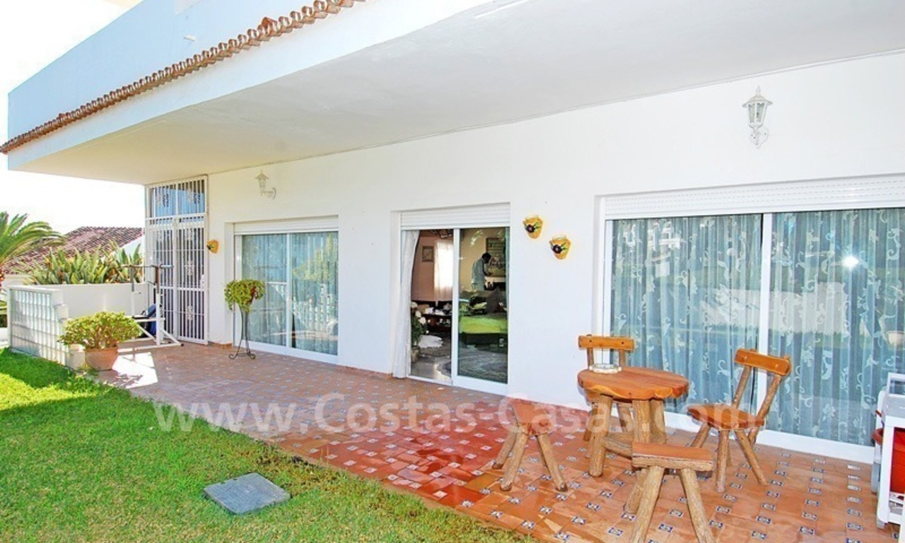 Ample ground floor apartment for sale in Nueva Andalucia – Marbella 6