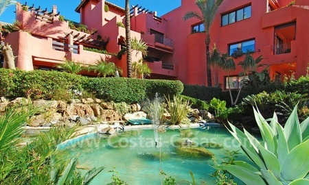 Luxury beachfront apartment for sale, frontline beach complex, New Golden Mile, Marbella - Estepona 18