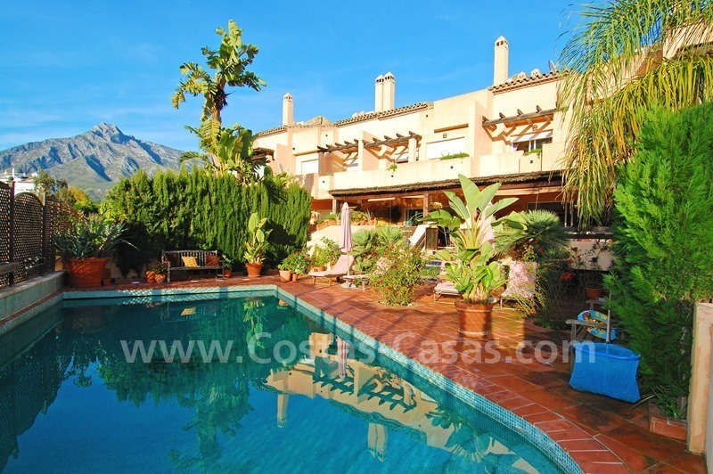 Double townhouse for sale on the Golden Mile near Puerto Banus 0