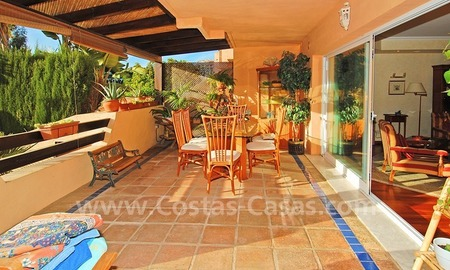 Double townhouse for sale on the Golden Mile near Puerto Banus 3