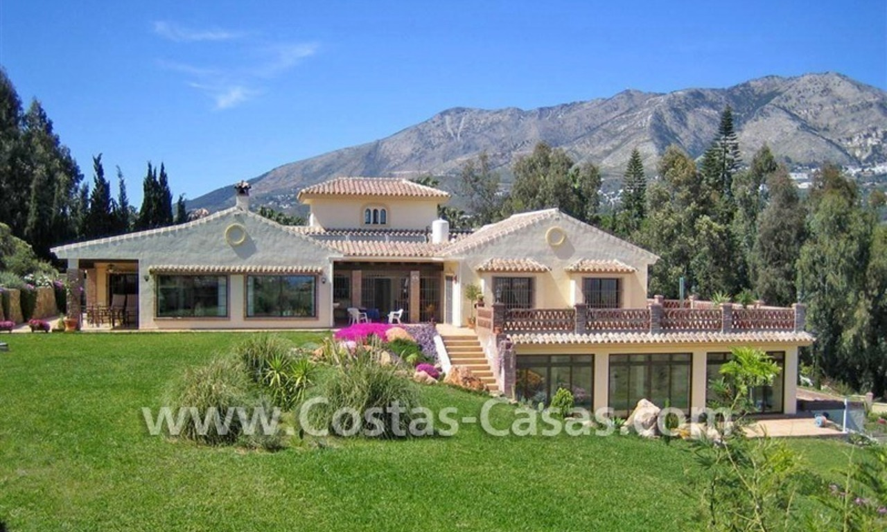 Bargain! Opportunity! Exceptional country property for sale for half price, Mijas, Costa del Sol 1