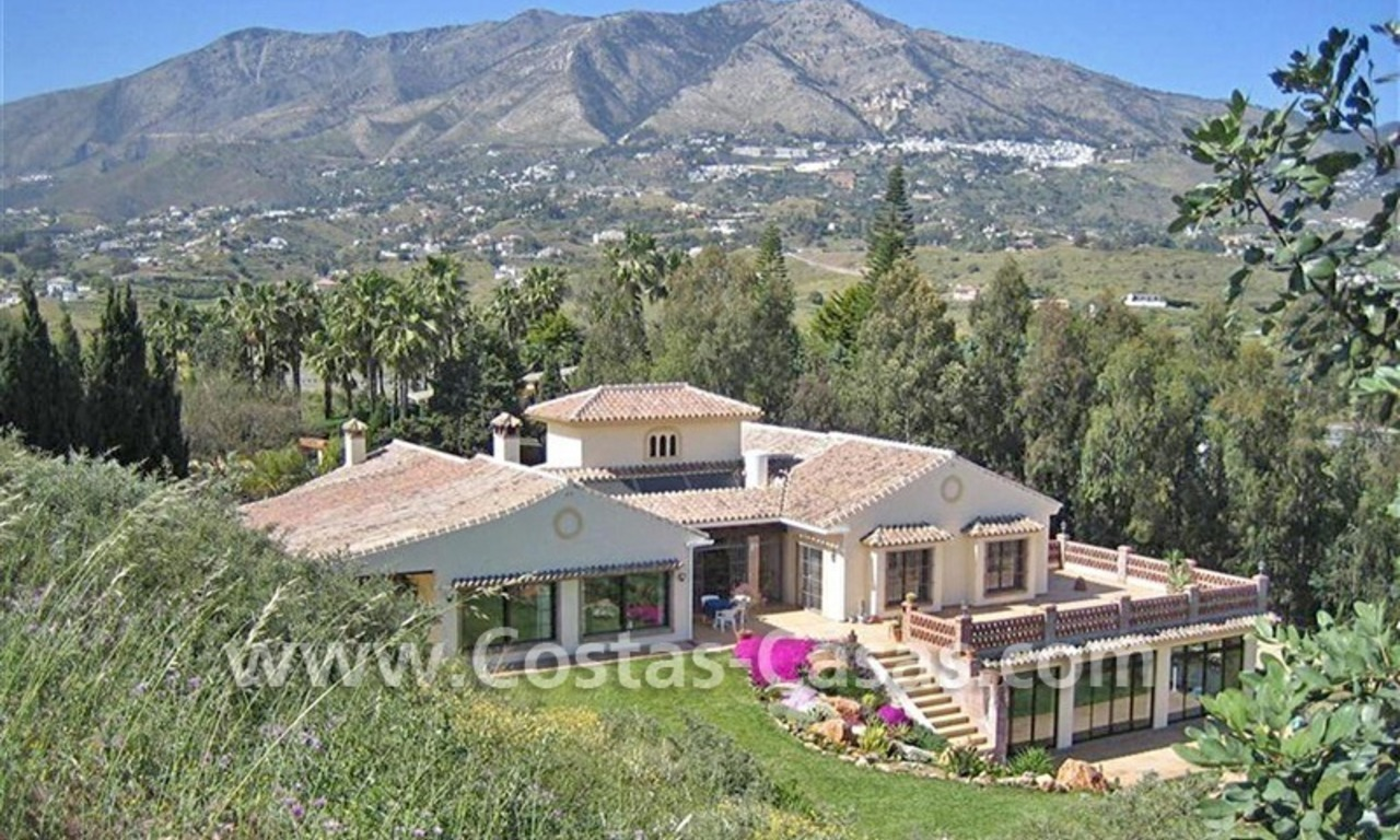 Bargain! Opportunity! Exceptional country property for sale for half price, Mijas, Costa del Sol 0