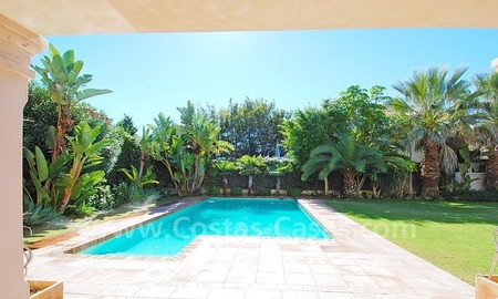 Modern andalusian beach villa to rent long term in Marbella area 3