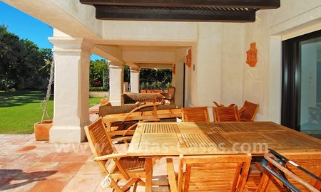Modern andalusian beach villa to rent long term in Marbella area 4