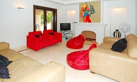 Modern andalusian beach villa to rent long term in Marbella area 6