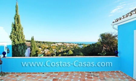 Townhouse for sale on the Golden Mile in Marbella
