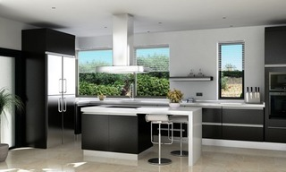 Modern villa under construction for sale, Marbella – Benahavis 3
