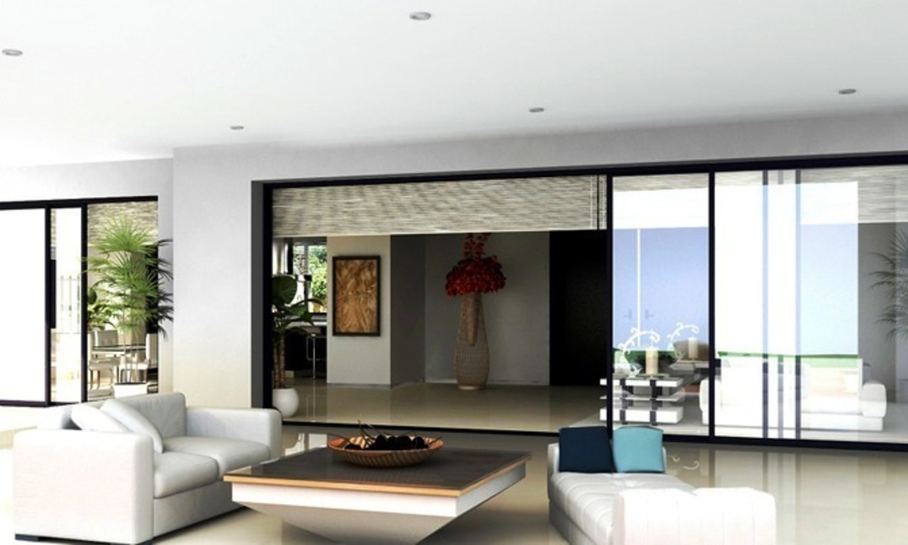 Modern villa under construction for sale, Marbella – Benahavis 5