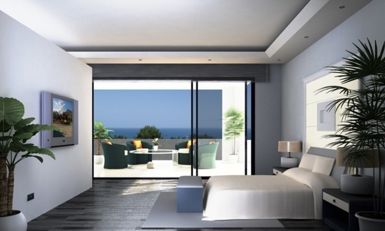 Modern villa under construction for sale, Marbella – Benahavis 6