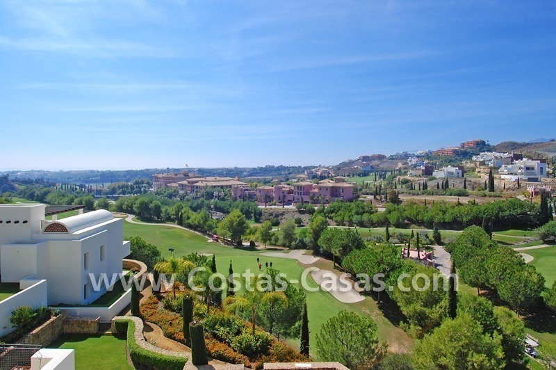 Luxury first line golf modern penthouse for sale in a 5*golf resort, Benahavis - Estepona - Marbella