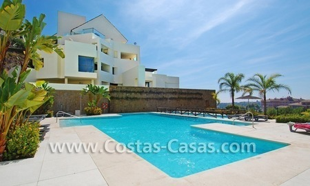 Luxury first line golf modern penthouse for sale in a 5*golf resort, Benahavis - Estepona - Marbella 1