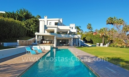 Modern contemporary styled luxury villa for sale in Nueva Andalucia - Marbella 0