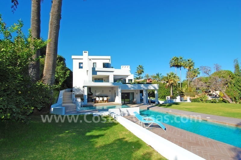 Modern contemporary styled luxury villa for sale in Nueva Andalucia - Marbella 1