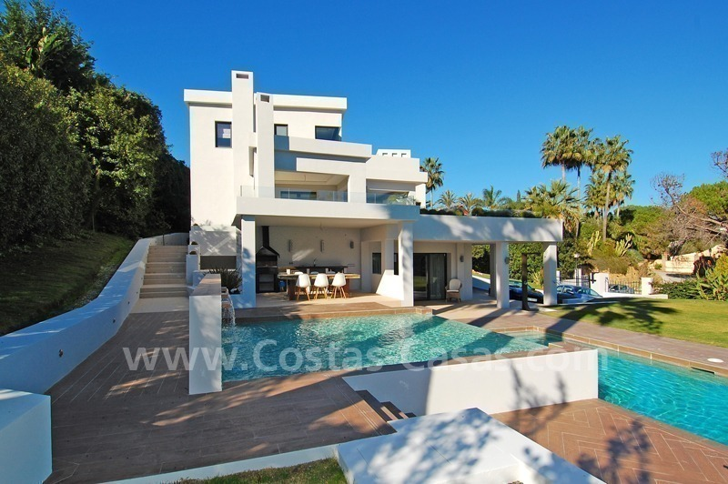 Modern contemporary styled luxury villa for sale in Nueva Andalucia - Marbella 2