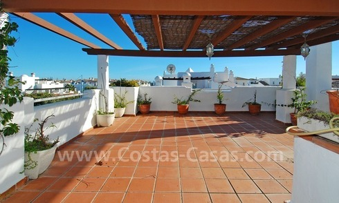Beachside penthouse for sale in Marbella