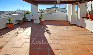 Beachside penthouse for sale in Marbella 1