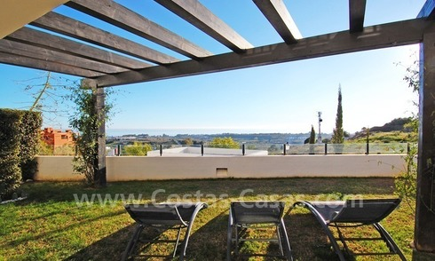 Modern styled luxury golf apartment for sale, 5*golf resort, Benahavis - Estepona - Marbella