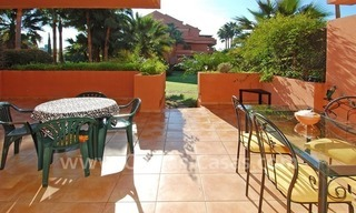 Luxury ground floor apartment for sale beachside in Nueva Andalucia, Puerto Banus - Marbella 0