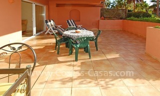 Luxury ground floor apartment for sale beachside in Nueva Andalucia, Puerto Banus - Marbella 1