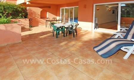 Luxury ground floor apartment for sale beachside in Nueva Andalucia, Puerto Banus - Marbella 2