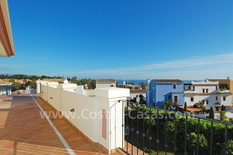 Exclusive apartment for sale on the Golden Mile near Puerto Banus 1