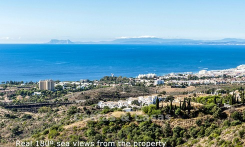 Opportunity! Luxury Modern Apartment For Sale in Marbella with breathtaking sea view, ready to move in 14614