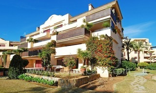Beachfront luxury apartment for sale at the New Golden Mile between Puerto Banus - Marbella and the centre of Estepona 0