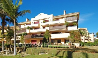 Beachfront luxury apartment for sale at the New Golden Mile between Puerto Banus - Marbella and the centre of Estepona 1