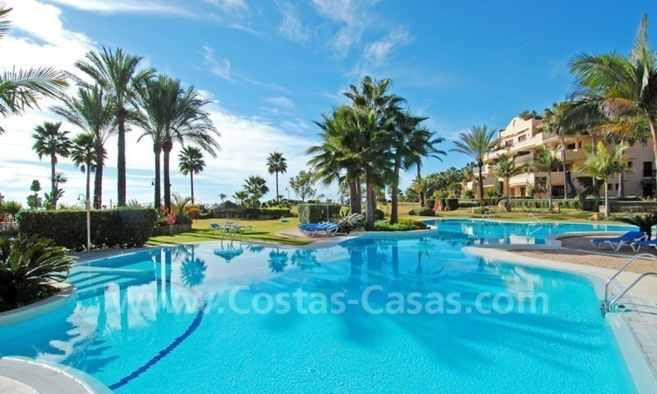 Beachfront luxury apartment for sale at the New Golden Mile between Puerto Banus - Marbella and the centre of Estepona 17