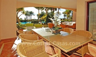 Beachfront luxury apartment for sale at the New Golden Mile between Puerto Banus - Marbella and the centre of Estepona 4