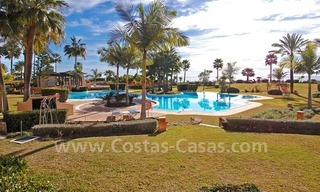 Beachfront luxury apartment for sale at the New Golden Mile between Puerto Banus - Marbella and the centre of Estepona 5