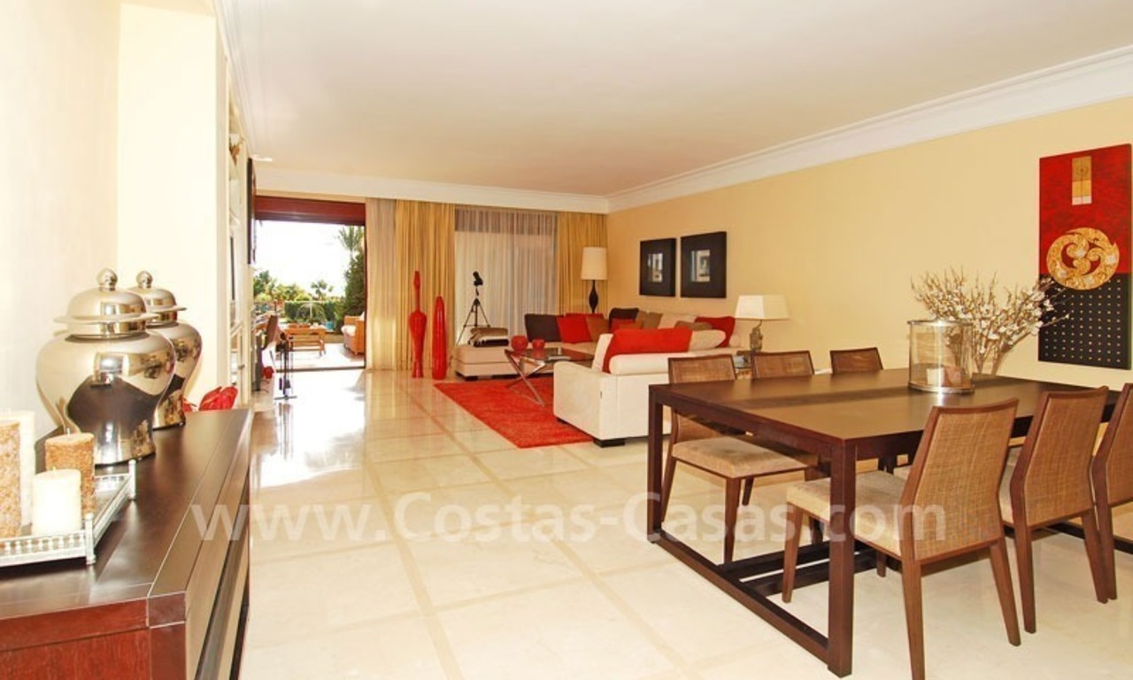 Beachfront luxury apartment for sale at the New Golden Mile between Puerto Banus - Marbella and the centre of Estepona 9