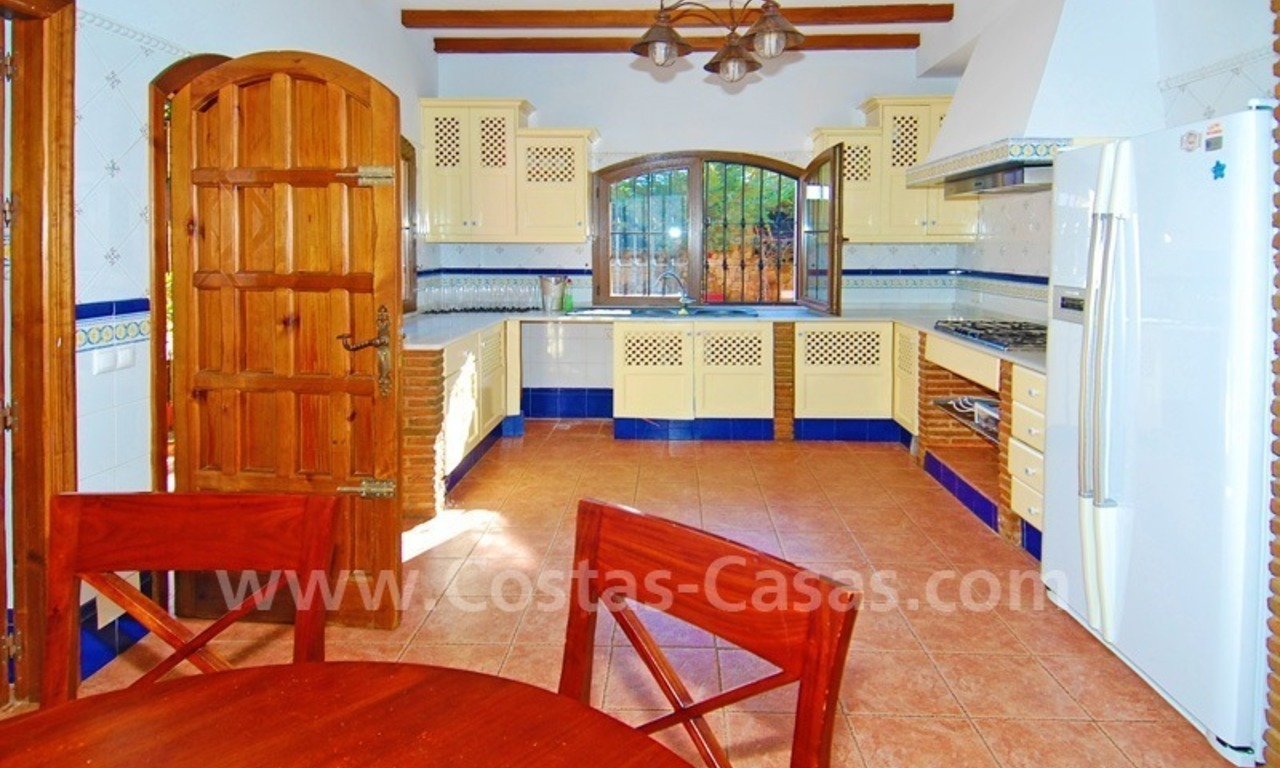 Villa for sale in Marbella with possibility to built a small hotel or B&B 15