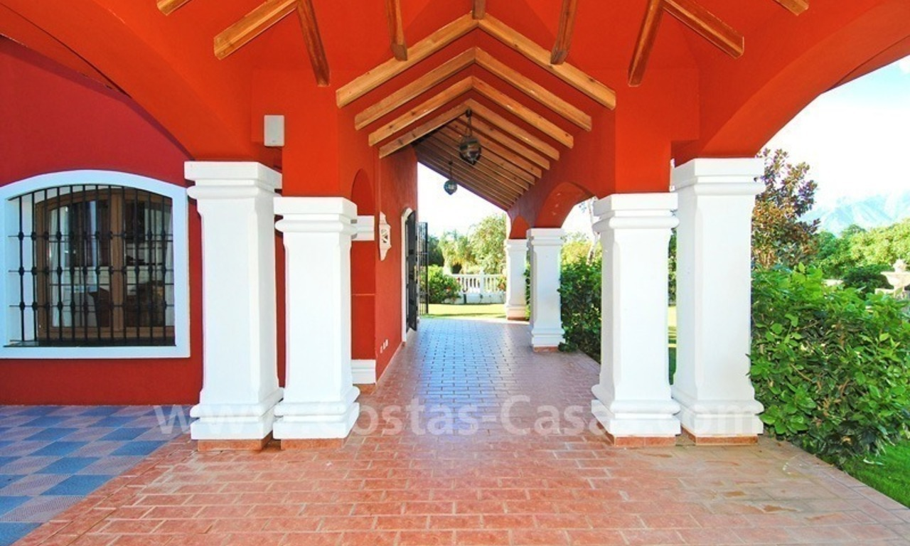 Villa for sale in Marbella with possibility to built a small hotel or B&B 7