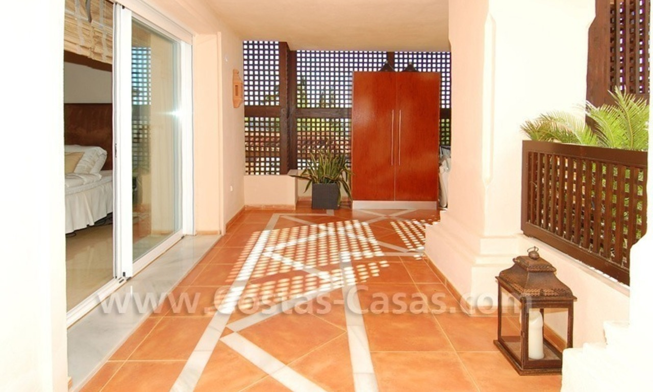 Large luxury elevated ground-floor apartment for sale in Nueva Andalucía – Marbella 19