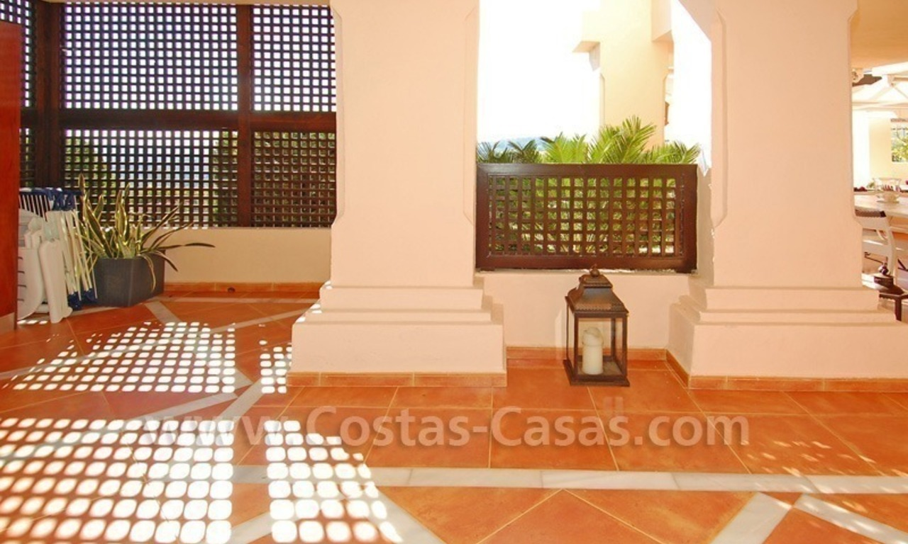 Large luxury elevated ground-floor apartment for sale in Nueva Andalucía – Marbella 20
