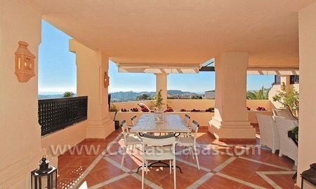 Large luxury elevated ground-floor apartment for sale in Nueva Andalucía – Marbella 2