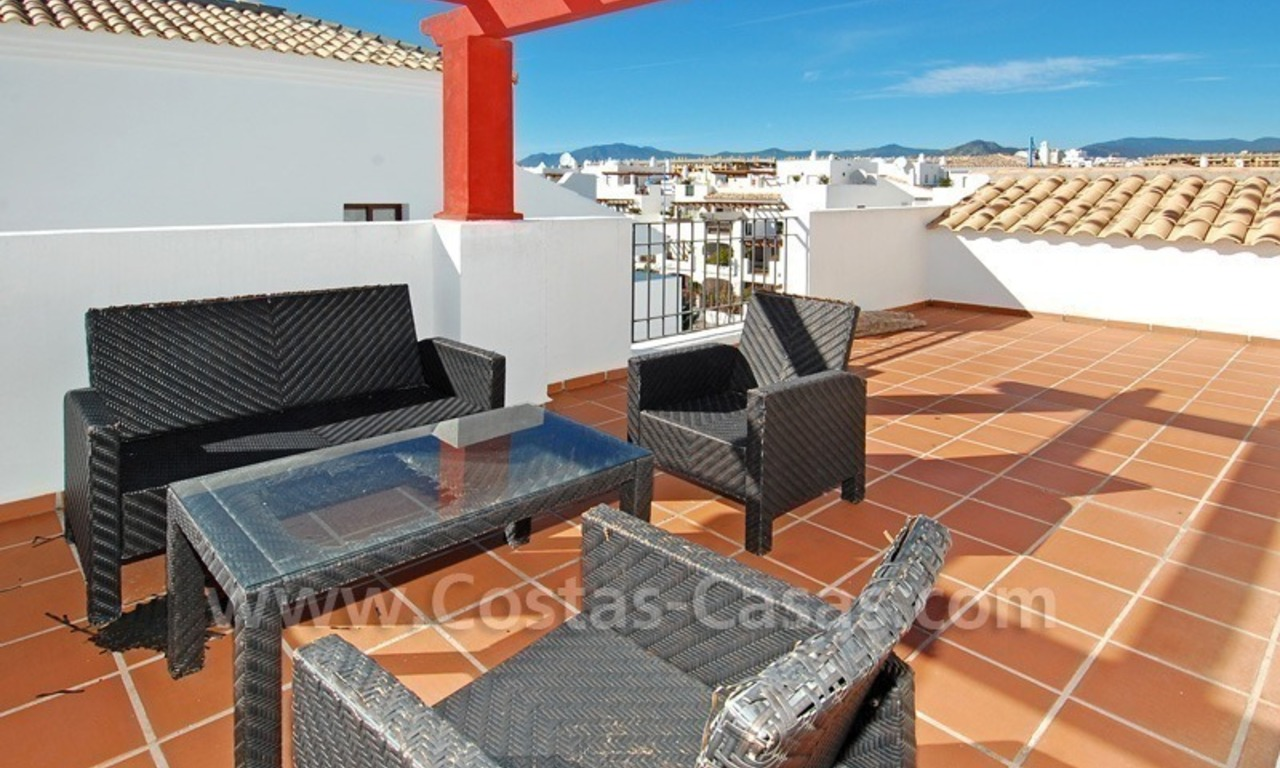 Corner penthouse apartment close to the beach for sale in Marbella 1