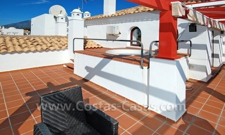 Corner penthouse apartment close to the beach for sale in Marbella 2