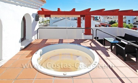 Corner penthouse apartment close to the beach for sale in Marbella 3