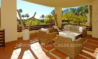 Luxury apartment for sale, frontline beach complex, New Golden Mile, Marbella – Estepona 0