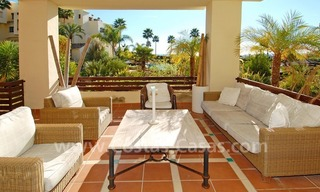 Luxury apartment for sale, frontline beach complex, New Golden Mile, Marbella – Estepona 1